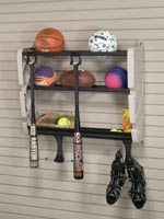Horizontal Bike Rack w/ Basket